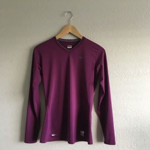 NTW Nike Pro fit dry shirt long sleeve